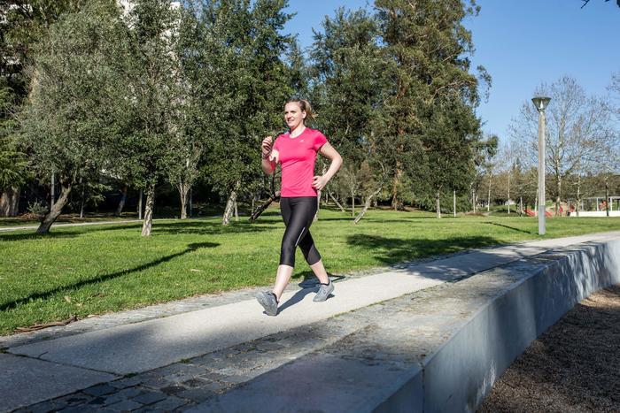 Giày đi bộ fitness PW 100 nữ - Xám