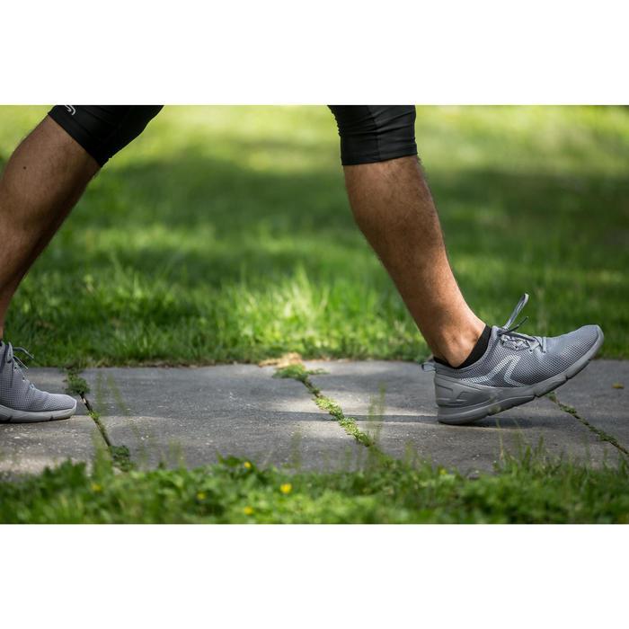 Freizeitschuhe Walking PW 100 Herren grau