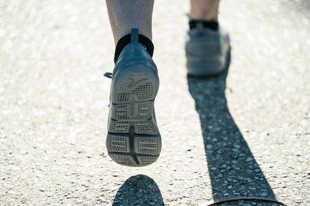 PW 100 Women's Fitness Walking Shoes - Dark Grey