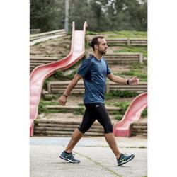 Freizeitschuhe Walking PW 140 Herren grau/gelb