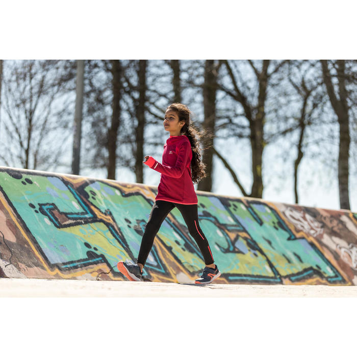 Sportschuhe Walkingschuhe Protect 140 Kinder blau/rosa