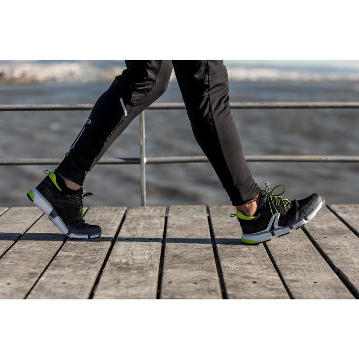 Chaussures marche sportive homme PW 590 Xtense gris / jaune - 1421300