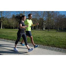 Zapatillas de marcha deportiva para mujer PW 140 caqui / rosa
