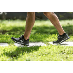 Chaussures marche sportive homme PW 140 noir / blanc