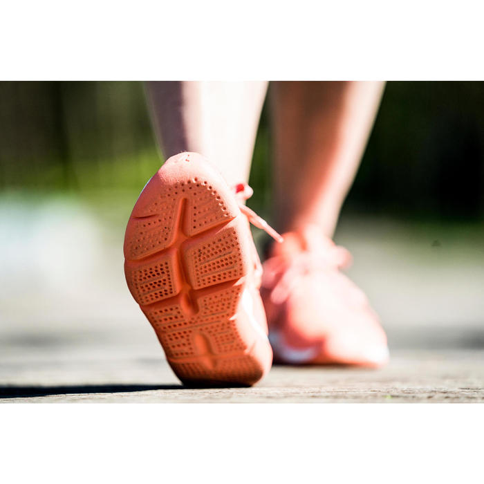 Zapatillas de Marcha Deportiva Newfeel PW 140 mujer coral