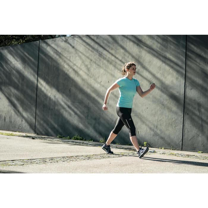Zapatillas marcha deportiva mujer PW 140 azul / verde