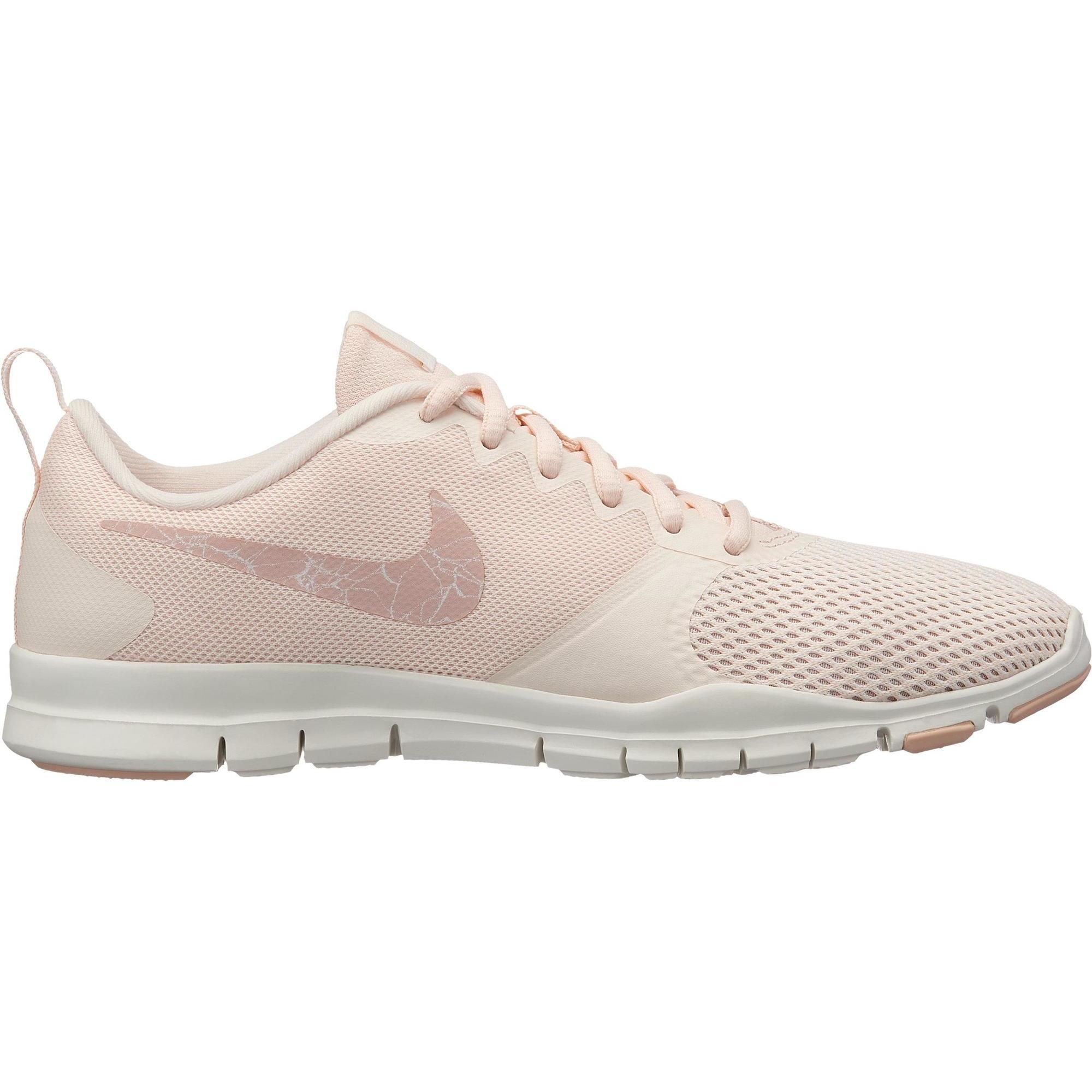 2617335 Nike Cardiofitness schoenen Nike Flex Essential voor dames roze ivoorwit
