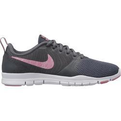 Chaussures fitness cardio-training  Nike flex essential femme kaki et rose