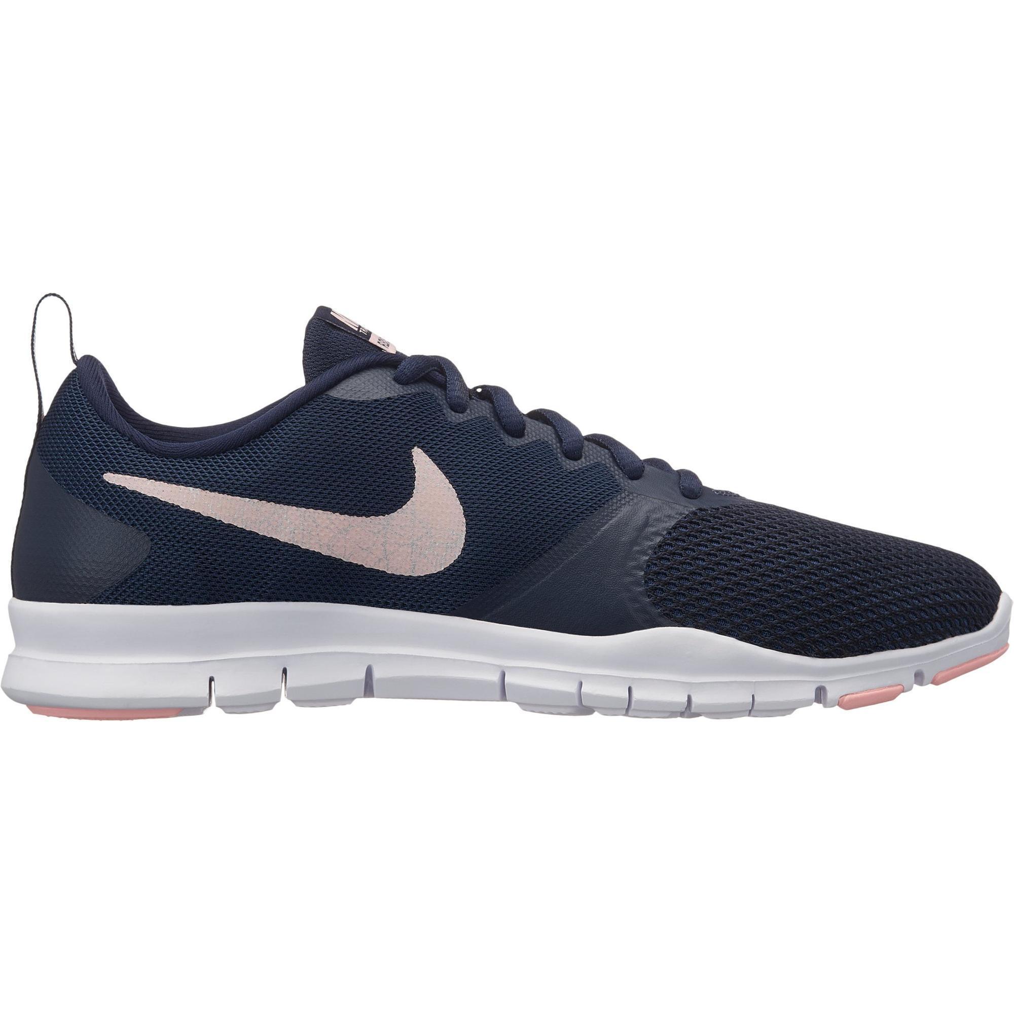 Nike Cardiofitness schoenen Nike Flex Essential voor dames blauw en roze