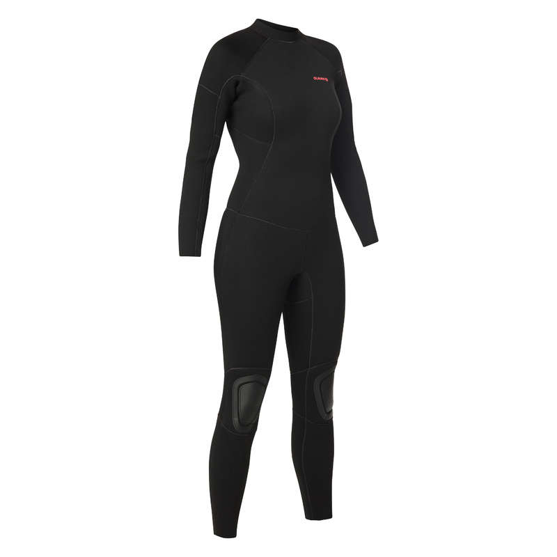 COLD WATER WETSUIT Surf - Surf wetsuit 4/3 SWS100CW F B OLAIAN - Wetsuits