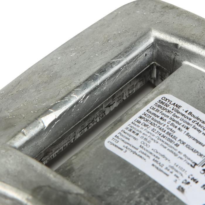 Lastre Plomo sin forro de submarinismo de 2 kg
