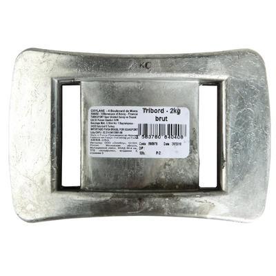 Обважнювач для дайвінгу, свинцевий без покриття, 2 кг