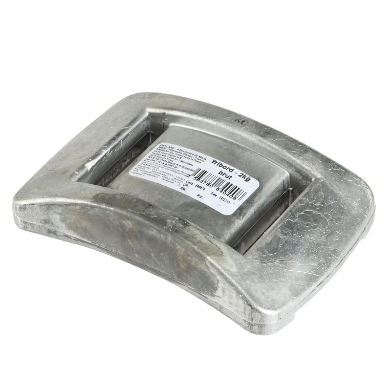 2 kg uncoated lead underwater diving weight