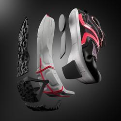 Zapatillas Marcha Nórdica Newfeel NW 900 Flex-H Mujer Negro Rosa