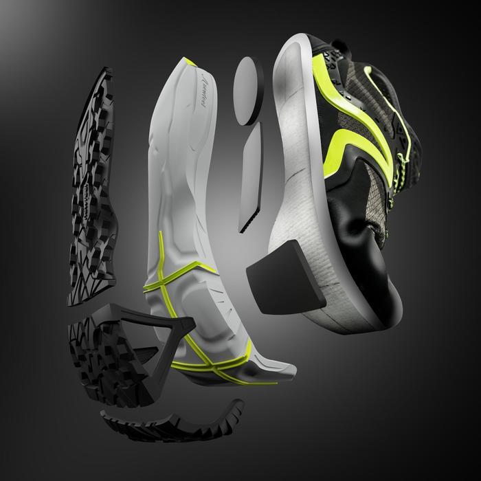 Chaussures marche nordique homme NW 900 noir / vert - 1421803