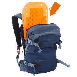 Skirugzak voor freeride met geïntegreerde rugbeschermer FR500 blauw