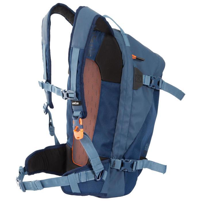 Mochila de esquí Free Ride protección dorsal integrada FR500 Azul