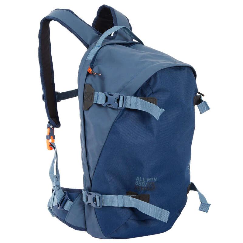 Mochilas Ski/Snow DESP. DE NEVE - Mochila Ski Dorsal FR500 Azul WEDZE - All Catalog