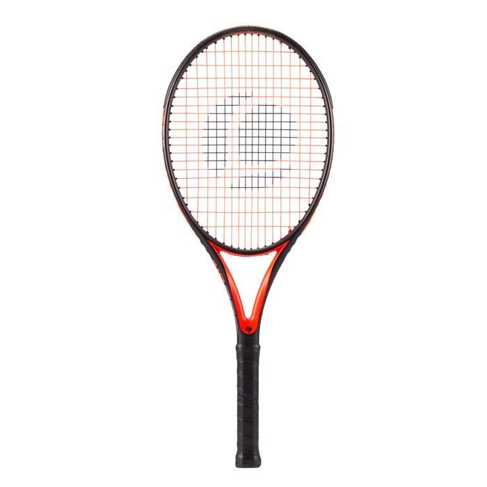 Tennisracket voor volwassenen Artengo TR560 Lite zwart oranje