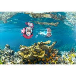 Máscara de snorkel en superficie Easybreath naranja