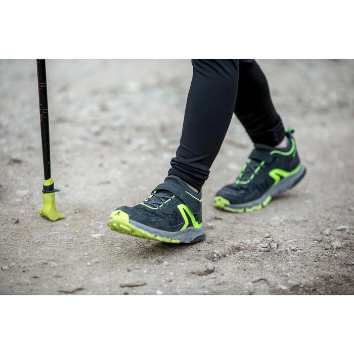 NW 580 Children's Nordic Walking Shoes grey green - 1421968