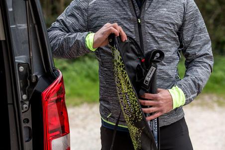 NWB500 Nordic Walking Pole Bag - Black/Yellow