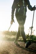 Doplnky na chôdzu NORDIC WALKING A CHÔDZA - PALICE PW P900 ČIERNO-ŽLTÉ NEWFEEL - PALICE A DOPLNKY NA NORDIC WALKING A CHÔDZU