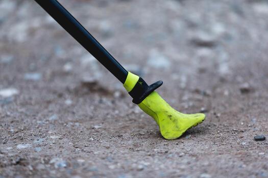 Nordic Walking Gummipuffer NW Pad500 gelb