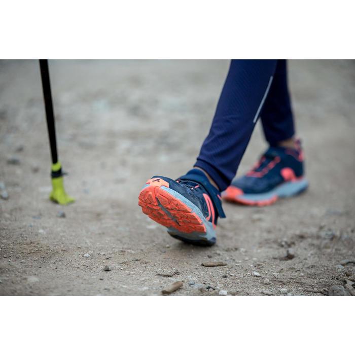 NW 580 Children's Nordic Walking Shoes grey green - 1421995