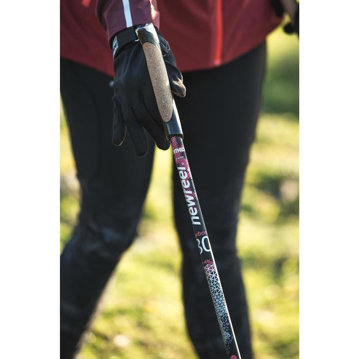 Bâtons marche nordique PW P900 noir / rose