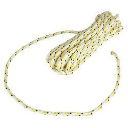 Lijn Braidline 8 mm x 10 m wit/geel - 142218