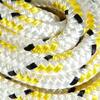 Lijn Braidline 8 mm x 10 m wit/geel - 142222