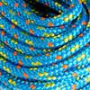 Lijn Challenge voor boot 4 mm x 20 m blauw/geel - 142232