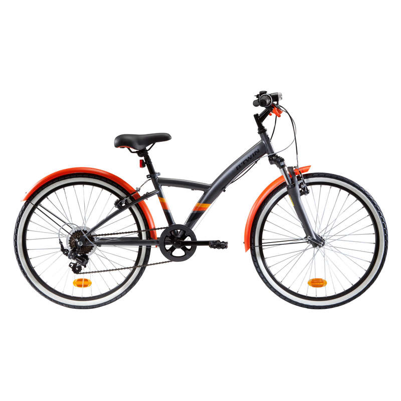KIDS HYBRID BIKES 6-12 YEARS - Original 500S Hybrid Ages 9-12 B'TWIN