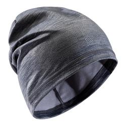 Bonnet Keepdry 500 enfant football gris chiné