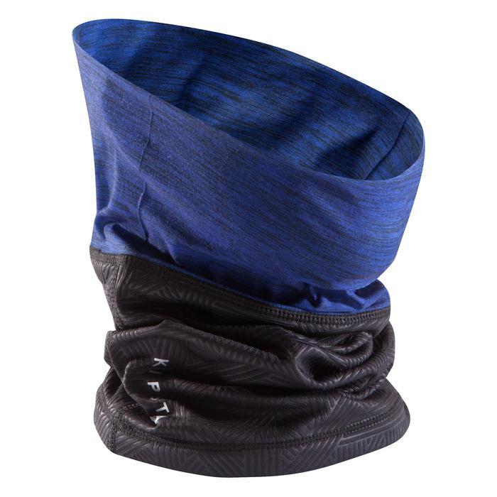 Cache cou Keepdry 500 bleu vif chiné