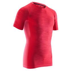 Hardloopshirt voor heren rood Skincare Kiprun