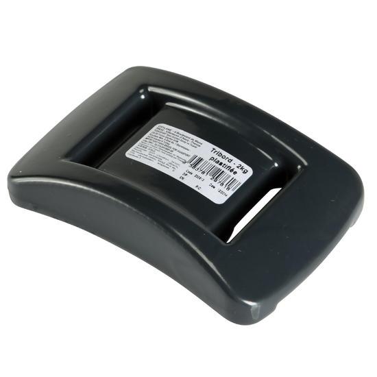 Bekleed duiklood 2 kg grijs - 142255