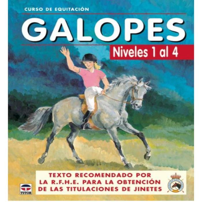 SP Libro Galopes Niveles 1 al 4 Curso de equitación