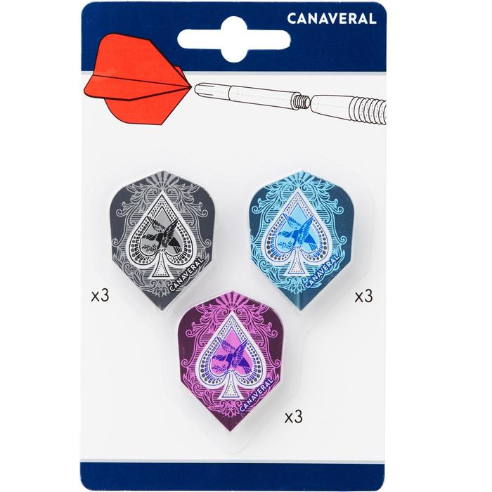 Dartflights Set 3 x 3 Standard Aces