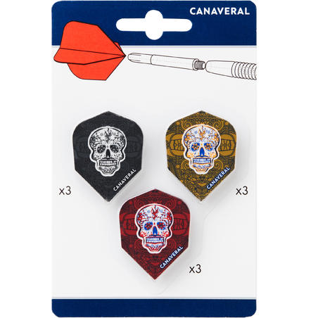 Standard Skulls Flights 3 x Tri-Pack