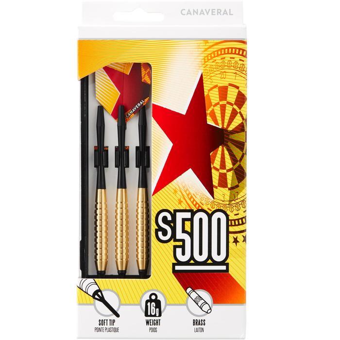 3 dartpijlen plastic punt S500