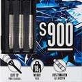 CÉLTÁBLÁK ÉS DARTS NYILAK SOFT HEGGYEL Darts - Darts nyíl S900-as, 3 db CANAVERAL - Darts Nyíl
