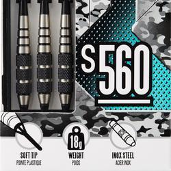 Dartpfeile S560 Softdart 3 Pfeile Kunststoffspitzen