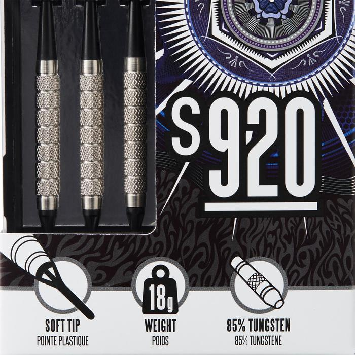 3 dartpijlen plastic punt S920