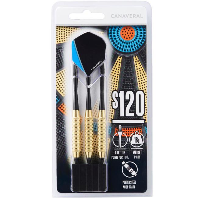 S120 Soft Tip Darts Tri-Pack