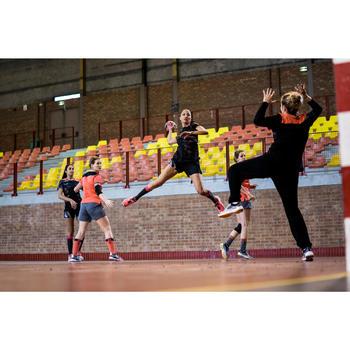 Short de handball H500 femme noir et - 1422705