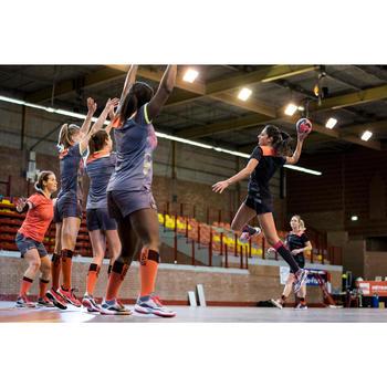 Chaussures de handball Mid femme grises et roses - 1422706