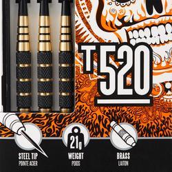 3 FLECHETTES POINTES ACIER T520