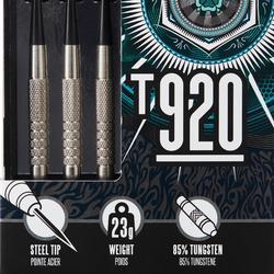 3 DARTPIJLEN STALEN PUNT T920